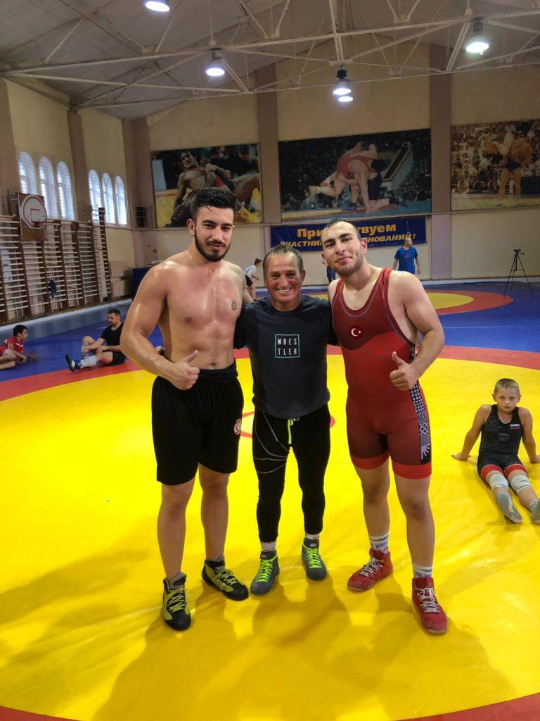 Rusya Güreş Ozper Ozorun Antrenman Spor (17)