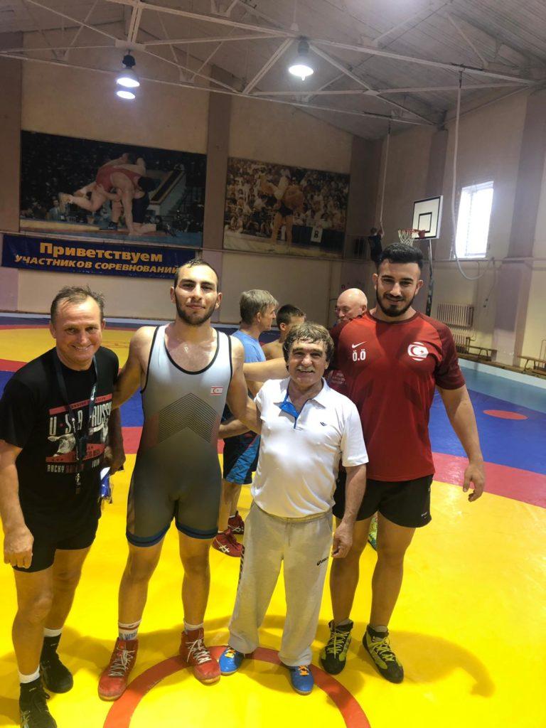 Rusya Güreş Ozper Ozorun Antrenman Spor (2)
